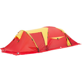 Helsport Svalbard High Camp 5 Tente, red/yellow